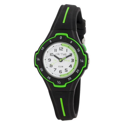 Cactus Watch 100m Black Time Guide (CAC-105-M01)