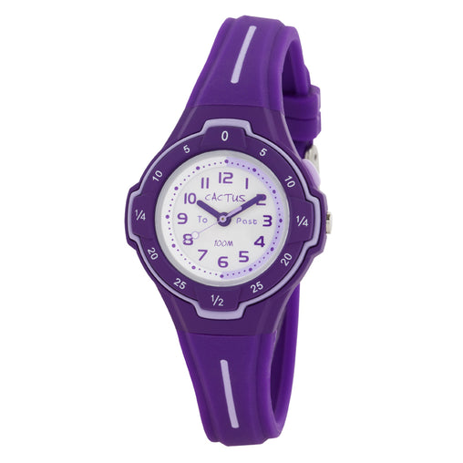 Cactus Watch 100m Purple Time Guide (CAC-105-M09)