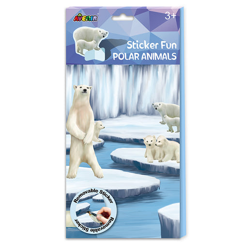 Avenir Polar Animals Sticker Fun