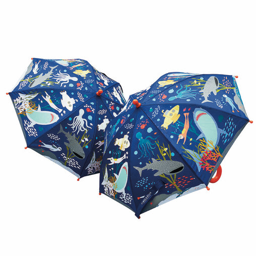 Floss & Rock Deep Sea Colour Changing Umbrella