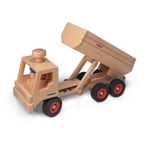 Fagus Wooden Container Tipper Truck Up