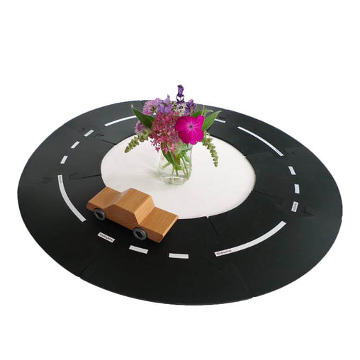 Way To Play Curves Rubber Road Extension Set