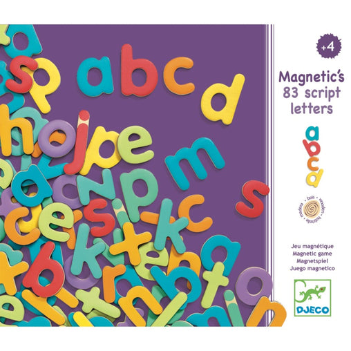 Djeco Magnetic Lower Case Letters Packaging