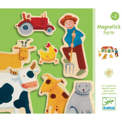 Djeco Magnetic Farm Packaging