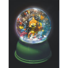 Djeco Fawn Night Light Snow Globe Dark