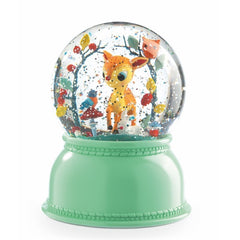 Djeco Fawn Night Light Snow Globe