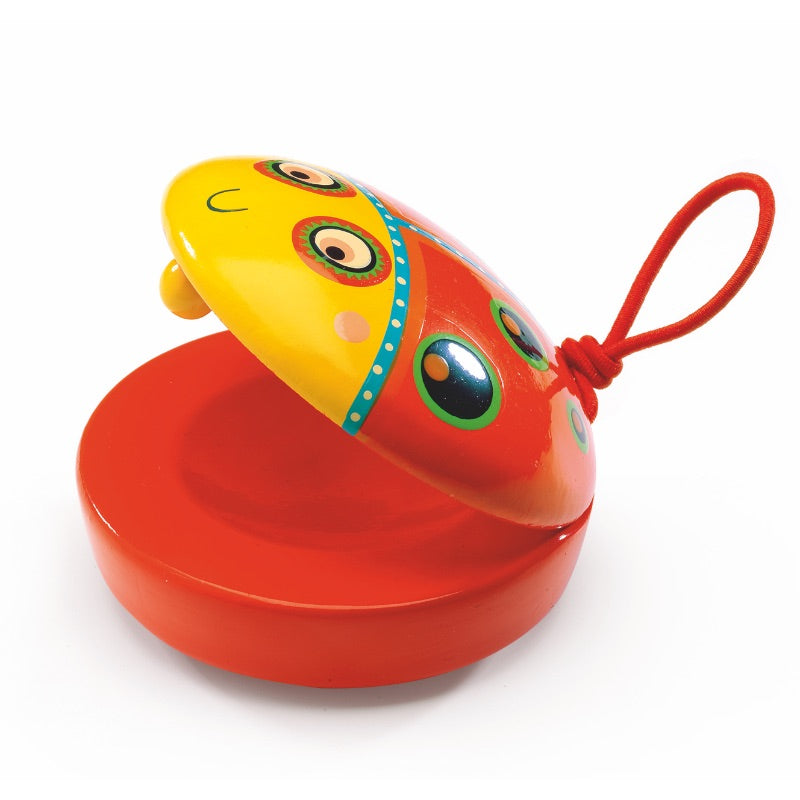 Djeco Musical Instrument Animambo Castanet