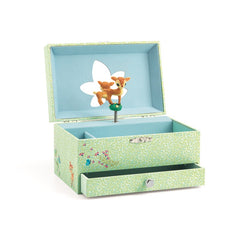 Djeco Musical Jewellery Box Fawn