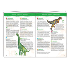 Djeco Observation Puzzle Dinosaurs 100 piece Information