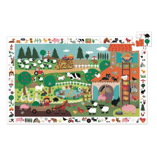 Djeco Observation Farm Puzzle 35 piece