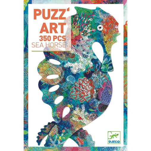 Djeco Puzzle Art Sea Horse 350 Piece Packaging