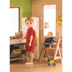 Djeco Wooden Cubic Doll House Kitchen