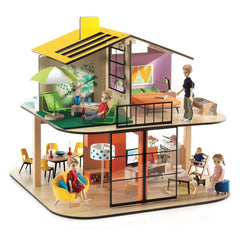 Djeco Wooden Colour Doll House