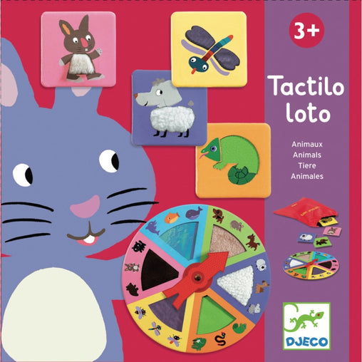 Djeco Tactile Lotto Game Animals