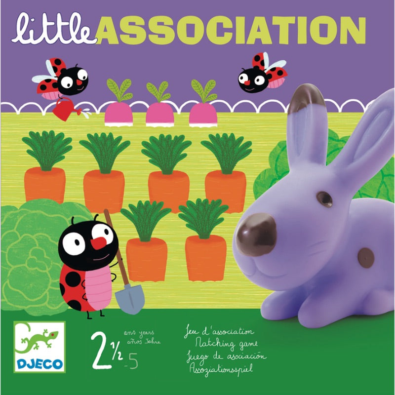 Djeco Game Little Association Packaging