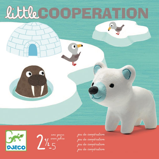 Djeco Game Little Cooperation Packaging