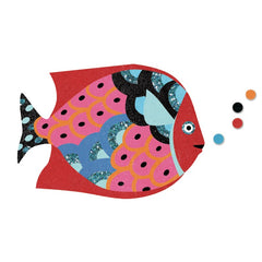 Djeco Rainbow Fish Coloured Sand 3