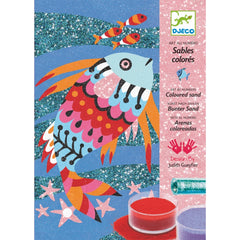 Djeco Rainbow Fish Coloured Sand