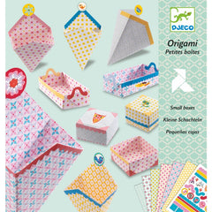 Djeco Origami Small Boxes Cover