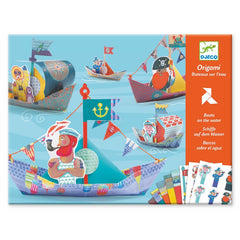 Djeco Origami Floating Boats Craft Kit