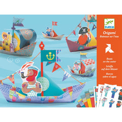 Djeco Origami Floating Boats Craft Kit Cover