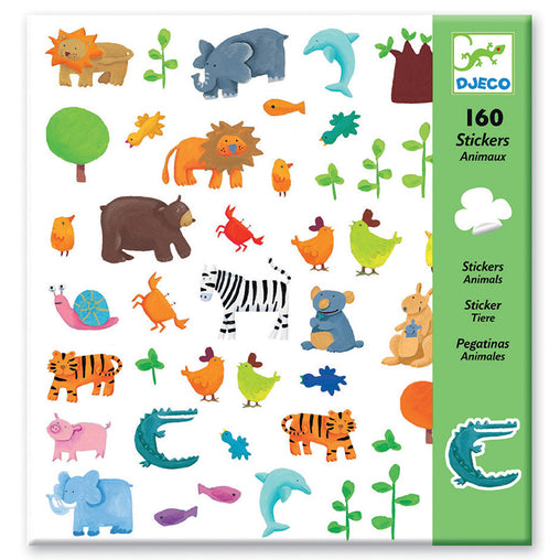 Djeco Animal Stickers Cover