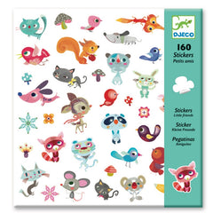 Djeco Small Friends Stickers 2