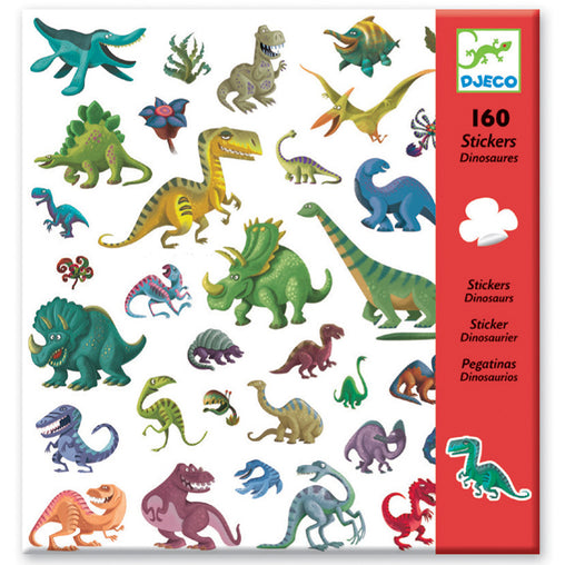Djeco Stickers Dinosaurs Front