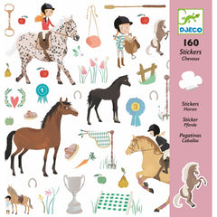 Djeco Horse Stickers Cover