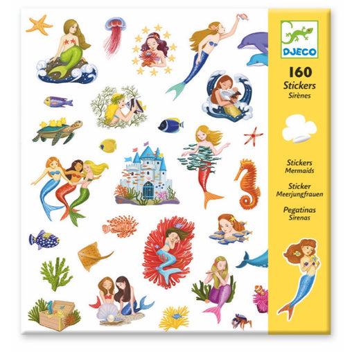 Djeco Stickers Mermaid