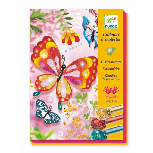 Djeco Glitter Boards Butterflies