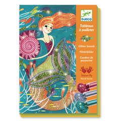 Djeco Glitter Boards Mermaid Cover