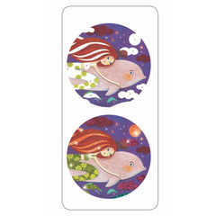 Djeco Glitter Boards Mermaid Inages