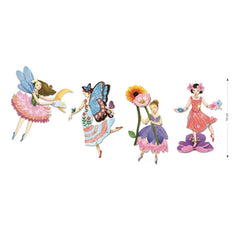Djeco Fairy Paper Puppets Craft Kit 4