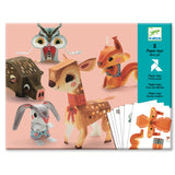 Pretty Wood Paper Toys