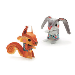 Djeco Pretty Wood Paper Toys 2