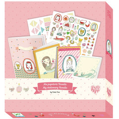 Djeco Stationery Kit Rosalie