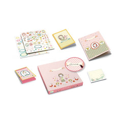 Djeco Stationery Kit Rosalie Contents