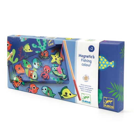 Djeco Magnetic Colour Fishing Packaging