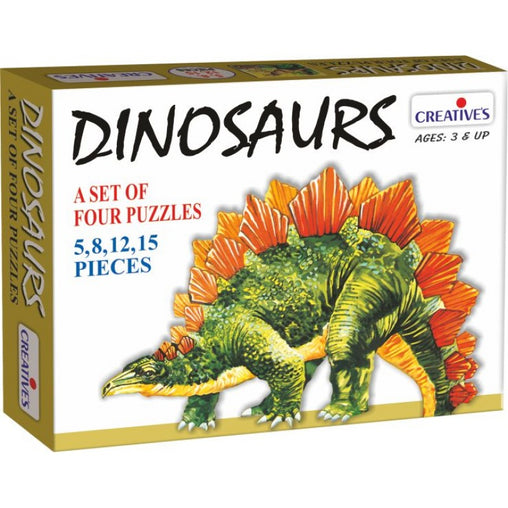 Creatives Dinosaurs Set of 4 Puzzles