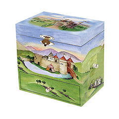 Enchantmints Musical Treasure Box Dragon Castle Closed