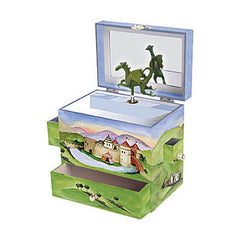 Enchantmints Musical Treasure Box Dragon Castle
