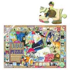 Natural Science 100 Piece Puzzle Size