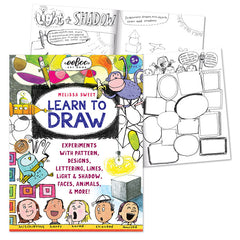 Eeboo Learn to Draw with Melissa Sweet Cover with pages