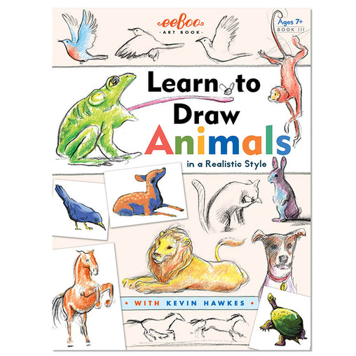 Eeboo Learn to Draw Animals Cover