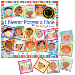 Eeboo I Never Forget A Face Matching Game 2