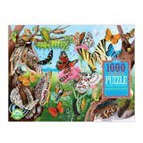 Butterflies & Moths 1000 Piece Jigsaw Puzzle
