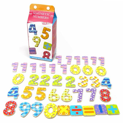 KaperKidz Magnetic Numbers in a Carton