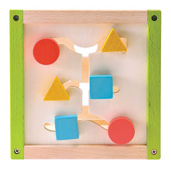 EverEarth My First Multi-Play Activity Cube Sliding Shapes