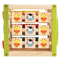 EverEarth My First Multi-Play Activity Cube Tic Tac Toe
